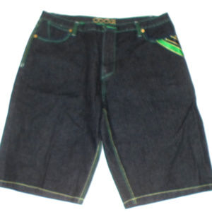 "Coogi Dark Denim Jean Shorts 41"" Waist E3"